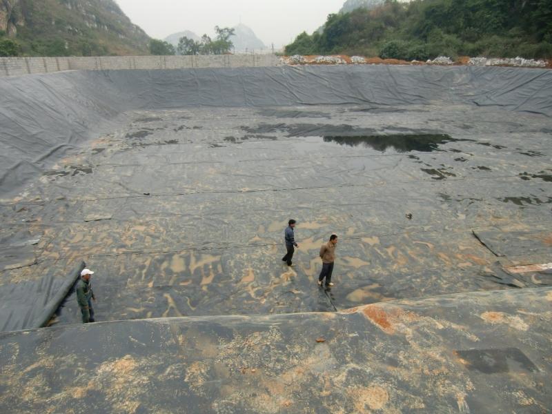 皋兰污水池
